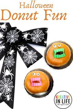 Halloween Donut Fun!