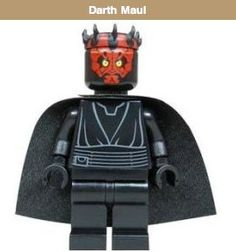 Darth Maul - Lego Star Wars Minifigure . $18.73