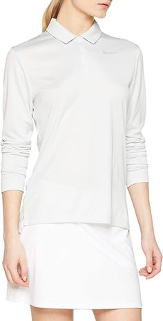 Dry fabric technology in these womens Nike dry core circular knit jacquard golf polo shirts helps you stay dry, comfortable and focused! Nike Womens Golf, Womens Golf Polo, Womens Golf Shirts, Golf Polo Shirts, Printed Polo Shirts, Branded Shirts, Online Shopping For Women, Golf Outfit, Core