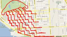 US teacher tracks his bike rides by GPS - and creates some stunning artwork (+ gallery)   road.cc