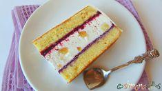 Vanilla Cake, Fondant, Deserts, Dessert Recipes, Candy, Bar, Sweet, Food, Pies