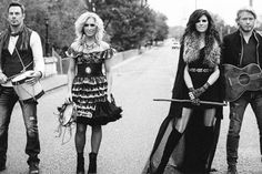 Little Big Town-Tornado. I love Karen's and Kimberly's looks.