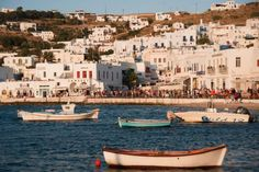 Dream Sailing Itinerary: The Cyclades — Sailing and Boating Blog | Tubber Places To Travel, Travel Destinations, Mykonos Island, Mykonos Greece, Sailing Holidays, Poli, Greece Islands, Cheap Travel, Study Abroad