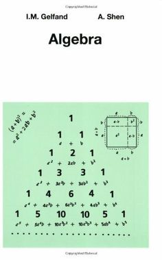 Algebra by I.M. Gelfand et al., http://www.amazon.co.uk/dp/0817636773/ref=cm_sw_r_pi_dp_P90Jtb05G98Q9