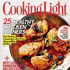 Cooking Light January/February 2012 Recipe Index