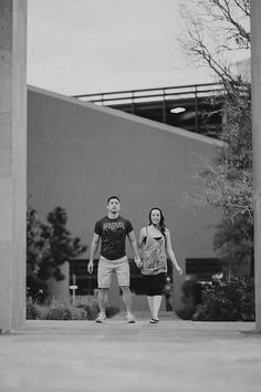 San Antonio Engagement Session. The Tobin Center, San Antonio Library, and Travis Park. Photo from Lauren & Garrett collection by Justin Brownell. www.justinbrownell.com