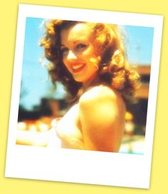 Marilyn Monroe brunette