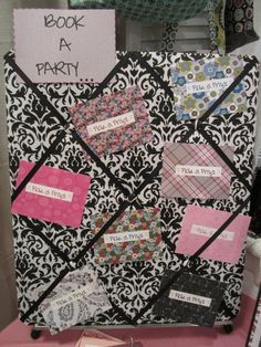 "Thirty One Hostess ""Pick A Prize"" Board.ideas for my Tupperware biz! Thirty One Hostess, Thirty One Party, Thirty One Gifts, Mary Kay Party, 31 Party, Host A Party, Party Prizes, Party Games, Pure Romance Party"
