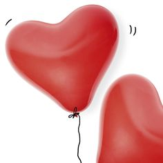 Heart Balloons! Loving it! Bursting with love. #Balloons #Heart #ValentinesDay