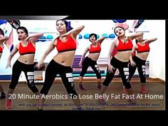 20 Minute Aerobics To Lose Belly Fat Fast At Home - YouTube