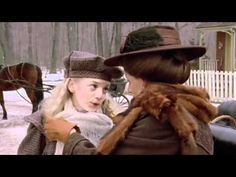 SARA: I liked having a cold. You let me lie in bed all day, and you gave me hot lemon and honey, and you read to me because my eyes were sore. HETTY: I see. So that's why that cold lasted two weeks, is it? (A Mother's Love Anne Of Avonlea, Road To Avonlea, Sarah Polley, Romantic Period, Friends Laughing, Anne Of Green Gables, Winter Scenes, Conte