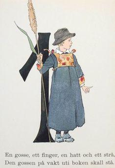 Emoji Challenge, Vintage Book Art, Boy Illustration, Alphabet Print, Alphonse Mucha, Illuminated Letters, People Art, Letter Art, Calligraphy Art
