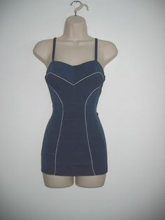 Vintage Rose Marie Reid, 1950's Swimsuit.  Sexy, Bombshell, Pin up, Swimwear.  Hollywood Glamour.. $79.95, via Etsy.