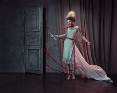 FEMALE NARRATIVES by KRISTINA VARAKSINA - Fashion Photography - Dolls - Puppets - Marionettes - Halloween concept ideas