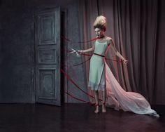 FEMALE NARRATIVES by KRISTINA VARAKSINA - Fashion Photography - Dolls - Puppets - Marionettes - Halloween concept ideas