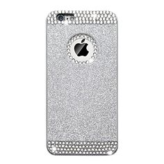 iAnko® Luxury Bling Shining Crystal Rhinestone Protective Phone Back Case Cover with Diamond Circle for Apple iPhone 6 4.7 Inch (Silver(Hard Case)) iAnko http://www.amazon.com/dp/B00VHE0RTM/ref=cm_sw_r_pi_dp_yRw6vb15BHH3H