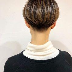 odatakashiさんはInstagramを利用しています:「hair odatakashi 刈り上げ女子✂︎ #hair#LouLou#add9 #cut#shorthair #刈り上げ女子 #切り込み#ショートボブ#金沢市美容室 #金沢美容室#刈り上げ #add9笹塚」