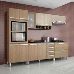 #Cozinhas podem ser maravilhosas! Ainda por cima os vários compartimentos ajudam muito a manter tudo em ordem. #decoração #design #madeiramadeira