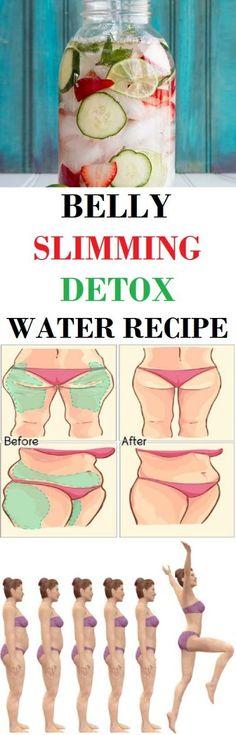 BELLY SLIMMING DETOX WATER RECIPE