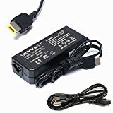 Skyvast 90W 20V 4.5A Square Tip AC Adapter Charger for Lenovo ThinkPad X1 Carbon 344428U N3N25UK 34442HU L440 Ultrabook Lenovo IdeaPad Z510 S210 Lenovo Essential G700 G710 G405