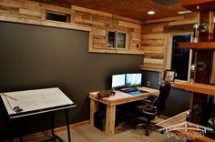 A Rustic industrial style for the offices of Crosswood Homes, Inc. Woodland Park Colorado, Rustic Industrial, Rustic Style, Offices, Corner Desk, Homes, Traditional, Furniture, Home Decor