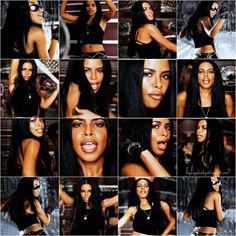 "Aaliyah for MAC, favorite makeup looks -  Aaliyah ""More Than a Woman"""