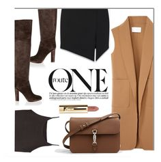 """""""The One I Like"""" by monmondefou ❤ liked on Polyvore featuring Chloé, Alexander Wang, Yves Saint Laurent, Zara, Gucci, women's clothing, women, female, woman and misses"""