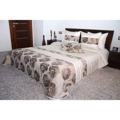 Luxusný krémovo béžový prehoz na manželskú posteľ s motívom kvetov Furniture, Home Decor, Decoration Home, Room Decor, Home Furnishings, Home Interior Design, Home Decoration, Interior Design, Arredamento