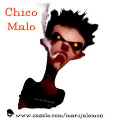 Chico Malo Concept, Movie Posters, Frases, Popcorn Posters, Film Posters, Posters, Film Poster