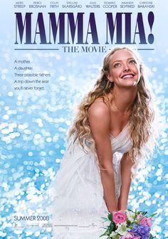 Mamma Mia! - Amanda Seyfried, Meryl Streep, Pierce Brosnan, Colin Firth, Stellan Skarsgård, Julie Walters, Dominic Cooper & Christine Baranski.