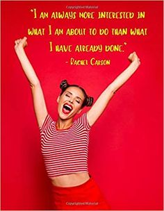 """I Am Always More Interested In What I Am About To Do Than What I Have Already Done: Undated Monthly / Weekly Goals Planner. Plan activities, budget, ... Personal Growth Development. 8.5""""x11"""" 420pg"""