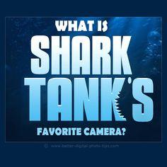 A fun look at Shark Tank personalities picking their favorite digital camera