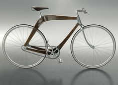 AERO designs wooden bicycle frame to explore techniques for architecture.