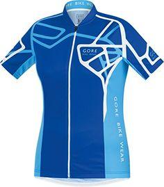 Maglietta fitness - GORE BIKE WEAR - Maglia per donna con chiusura lampo -  Element Adrenaline Jersey - Blu - misura 38 5bbc9f07e1cb
