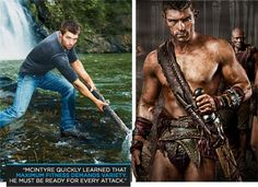 Liam McIntyre - Spartacus Strong: How The Cast Of Spartacus Got In Gladiator Shape - Bodybuilding.com