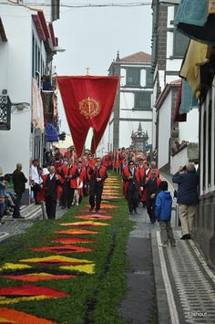 Festa do Senhor Santo Cristo Dos Milagres - .Azores . Portugal