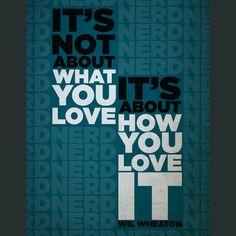 What You Love Poster $10 - store.dftba.com