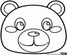 Resultado de imagem para rostos de animais para colorir