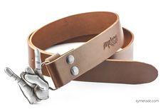 Cinturón BUCKLE BRAND Marrón. Hebilla intercambiable. Todos los diseños  de cinturones se 728bc8956105