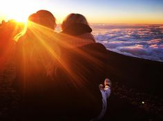 "88 Likes, 4 Comments - Luisa Wiegand (@luisa__wiegand) on Instagram: ""Enjoying the sunsets here😍❤️#maui #hawaii #haleakala #haleakalanationalpark #sunset #bestsunset…"""