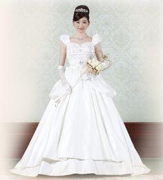 Precious Wedding dress by Tokyo Disney Land