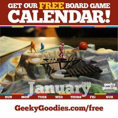 FREE goodies for tabletop board gamers and analog gamers of all types. Desktop Calendar, Calendar Wallpaper, Free Board Games, Game Room Decor, Diy Games, Tabletop Games, Game Design, No Time For Me, Free Printable