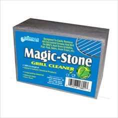 Compac's Magic-Stone Grill Cleaner Scrub, Scouring Brick/Barbecue Grill Brush/Barbecue Cleaner-Advanced Green Technology Easily Removes Stubborn Grime, Grease, from BBQ Grills, Griddles, RacksCompac Magic Stone Grill Cleaner (4) >>> For more information, visit image link.