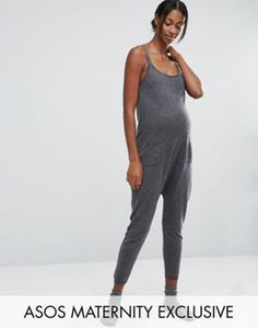 ASOS Maternity LOUNGE Knitted Jumpsuit