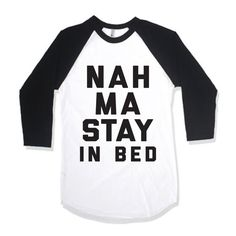 Nah Ma Stay In Bed by AwesomeBestFriendsTs on Etsy #yoga
