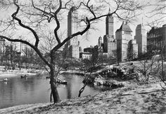 central park in new york | 1935 | #vintage #1930s #newyork