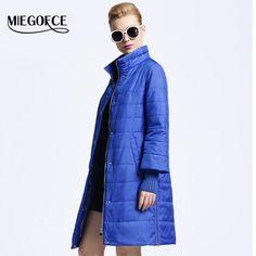 b7748c0a4f2630 New spring jacket women winter coat women's clothing Medium-Long Cotton  Padded slim warm Jacket