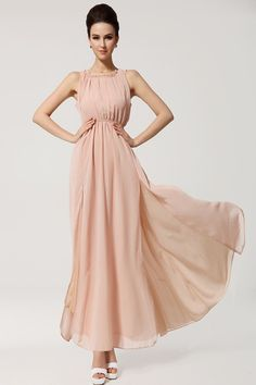 64b526dafe 2016 New Summer Bohemian Beach Women's Dress Chiffon Split Halter Backless  Long Maxi Dress Party Evening-in Dresses from Women's Clothing &  Accessories on ...
