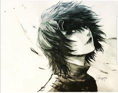 Juuzou Suzuya black haired @DaraenSuzu