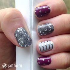 Love the beautiful combinations shared by Jamberry Nails. Shop looks like these online, on my Independent Consultant site: http://liz957.jamberrynails.net/